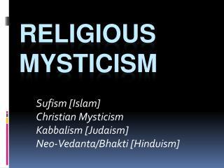 Religious Mysticism