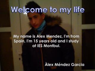 Àlex Méndez Garcia
