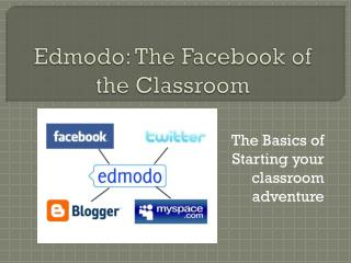 Edmodo: The Facebook of the Classroom