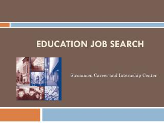 Education Job Search