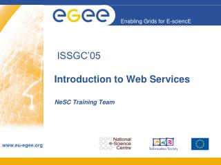 ISSGC'05  Introduction to Web Services