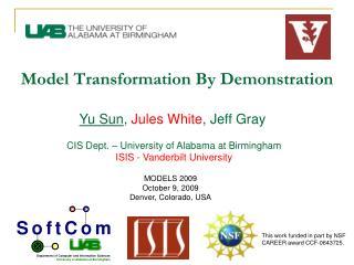 Model Transformation By Demonstration