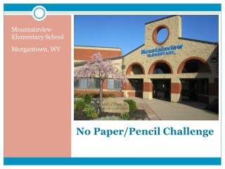 No Paper/Pencil Challenge