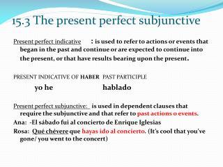 Present perfect subjunctive 002