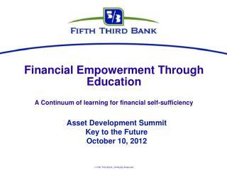 Financial Empowerment Through Education