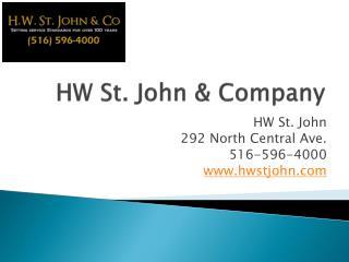 Customs Brokers,Hw St. John