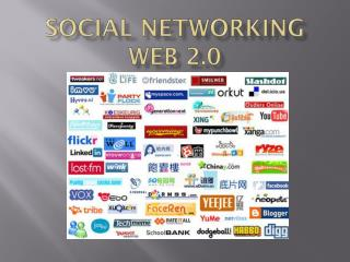 Social Networking web 2.0