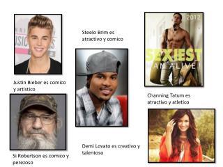 Justin  Bieber es comico  y  artistico