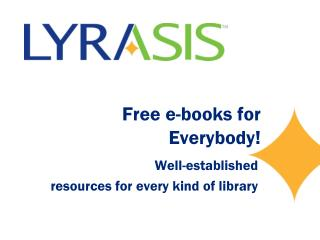 Free e-books for  Everybody!