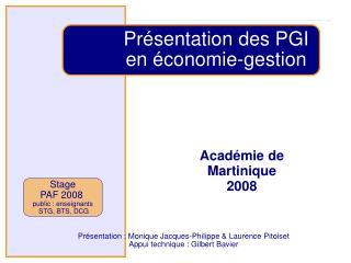 Acad mie de Martinique 2008