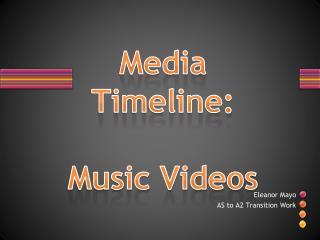 Media Timeline : Music  Videos