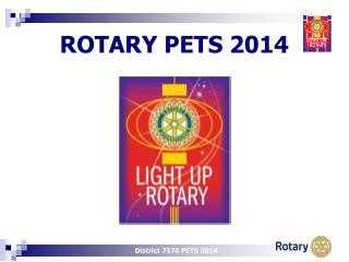 ROTARY  PETS  2014