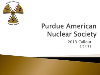 Purdue American Nuclear Society