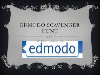 Edmodo  Scavenger Hunt