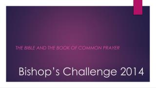 Bishop's Challenge 2014