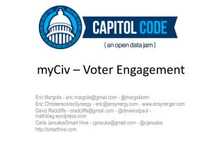 myCiv  – Voter Engagement