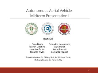 Autonomous Aerial Vehicle  Midterm Presentation I