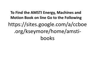 https://sites.google.com/a/ccboe.org/kseymore/home/amsti-books