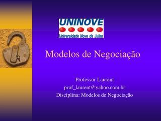Modelos de Negocia  o