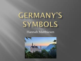 Germany's Symbols