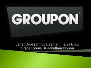 Janet Cookson, Eva  Zaman ,  Faiza Ejaz , Grace Odom,  & Jonathan Bryson