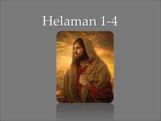 Helaman  1-4