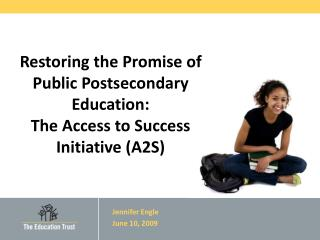Restoring the Promise of Public Postsecondary Education: