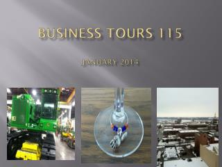 Business Tours 115  January 2014