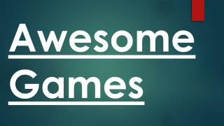 Awesome Games