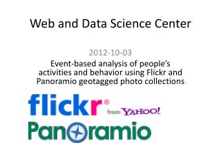 Web and Data Science Center