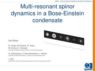 Multi-resonant  spinor  dynamics in a Bose-Einstein condensate