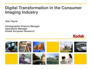 What kind of company is Kodak?