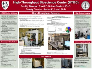 High-Throughput Bioscience Center (HTBC)
