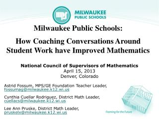Milwaukee Public Schools :