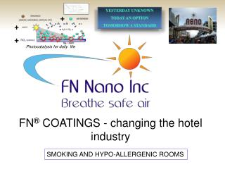 FN ® COATINGS - changing the hotel industry