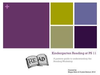 Kindergarten  Reading at PS 11