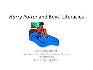 Harry Potter  and Boys' Literacies