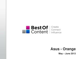 Asus  - Orange