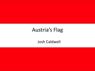 Austria's Flag