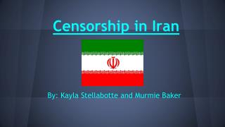 Censorship in Iran