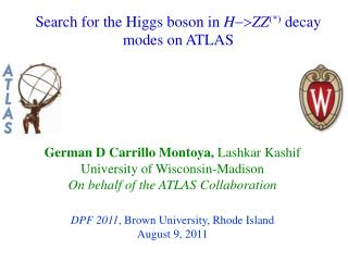 Search for the Higgs boson in  H -> ZZ (*)  decay modes on ATLAS