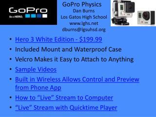 GoPro  Physics