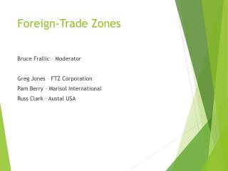 Foreign-Trade Zones