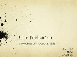 Case  Publicitário