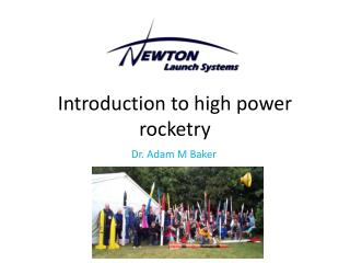 Introduction to high power rocketry