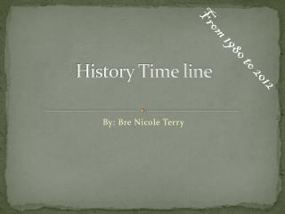 History  T ime  l ine