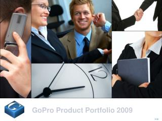 GoPro Product Portfolio 2009