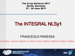 The INTEGRAL NLSy1