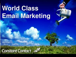 World Class  Email Marketing