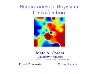 Nonparametric Bayesian Classification